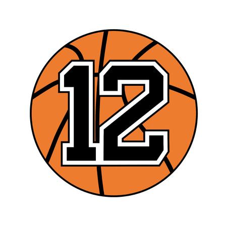 basket ball symbol design