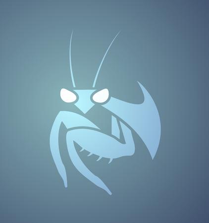 Creative mantis icon