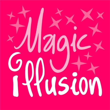 Magic illusion symbol.