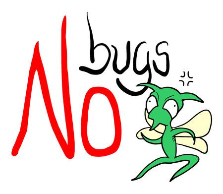 Geen bugs-teken.