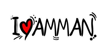 AMMAN love message