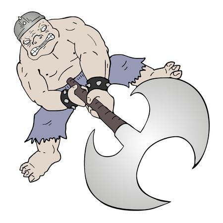 fantasy creature illustration