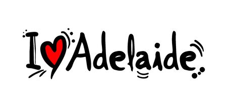 Adelaide love message