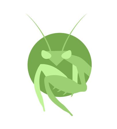 Mantis symbol Illustration