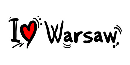 Warsaw love message