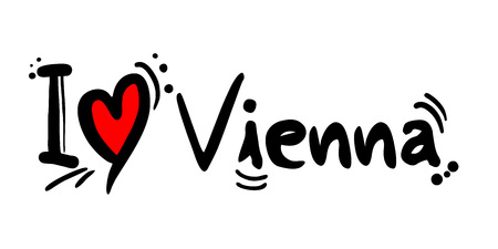 Vienna city love message