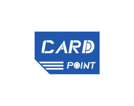 blue card symbol Ilustração