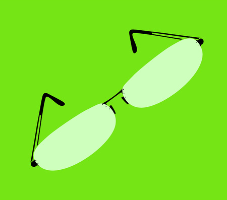 cool eyeglasses illustration Illustration