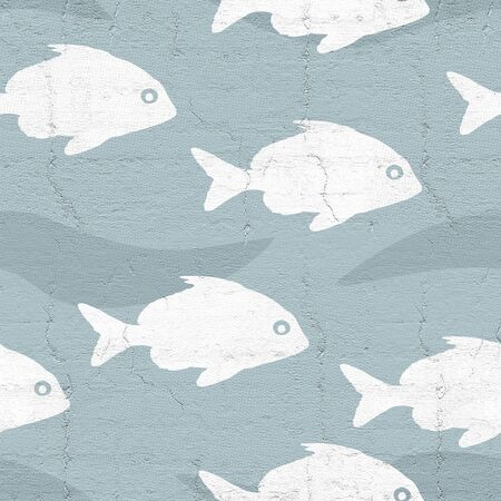Animal seamless background illustration