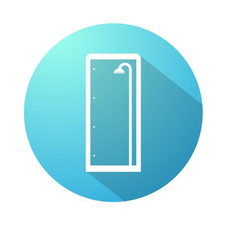 Shower enclosure icon Ilustração