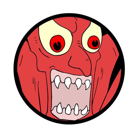 demon illustration Иллюстрация