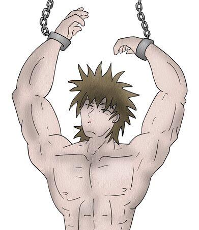 enslaved man