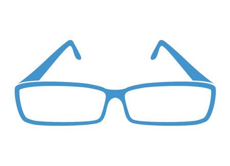 Eyeglasses casual style.