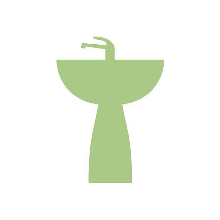 Sink bath icon