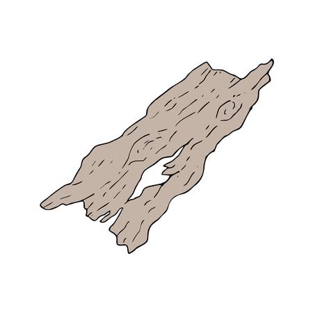 Oud stuk hout. Stockfoto - 91141993