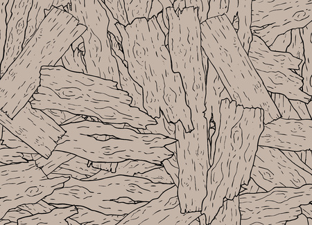 Wood pieces background