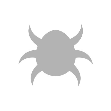 Tick symbol in white background Illustration