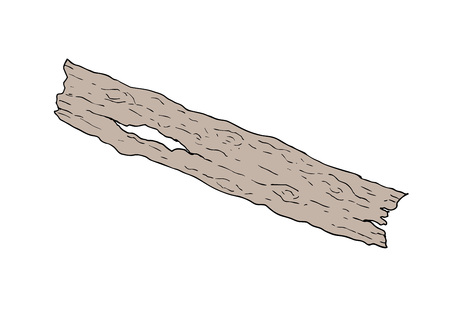 Oud stuk hout.