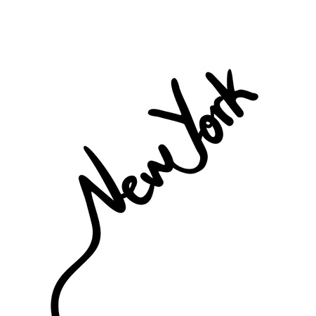 New York continuous lines design.