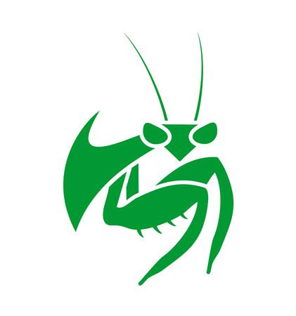 Mantis symbol Illusztráció