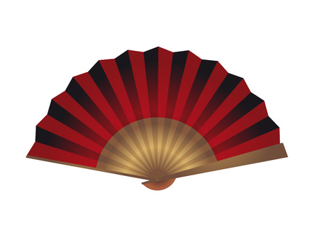 Red abanico illustration