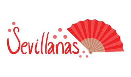 Sevillanas symbol. Illustration