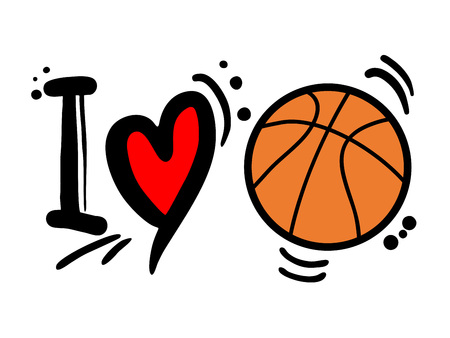 I love basketball message.