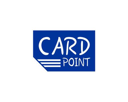 blue card icon Ilustração