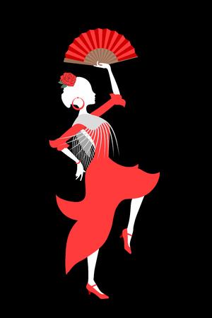 Gypsy Spanish dancer