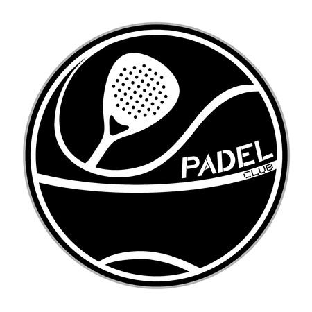 Padel symbol design Ilustração