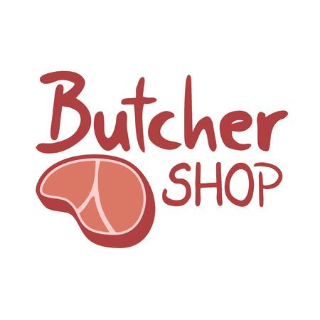 Butcher shop icon Vectores