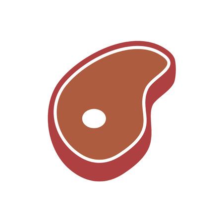 design of meat illustration