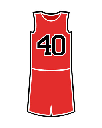 Basket uniform illustration Çizim