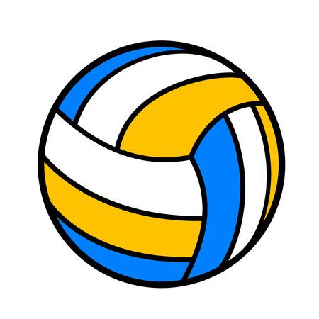 Volleyball symbol design