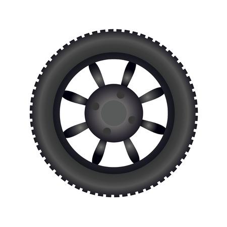 Tire image illustration