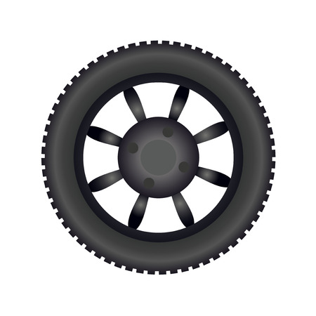 Tire image illustration