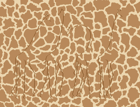 giraffe texture Archivio Fotografico - 100560847