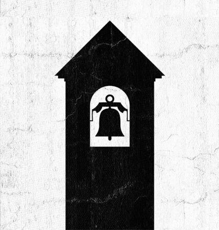 bell tower illustration