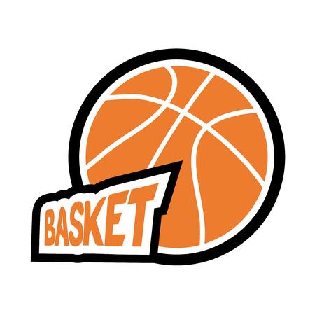 Basketball icon design