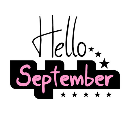 Hello September icon symbol