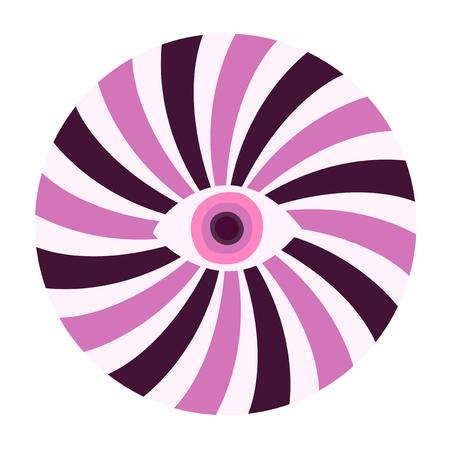 circle hynosis eye Illustration