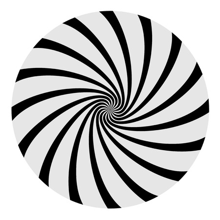 Imaginative spiral background