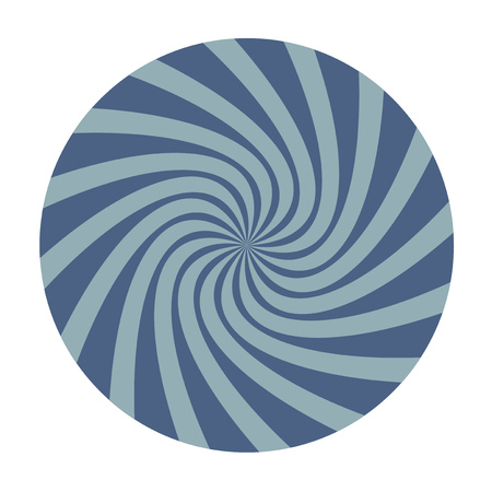 Imaginative spiral background
