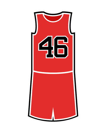 basket uniform illustration