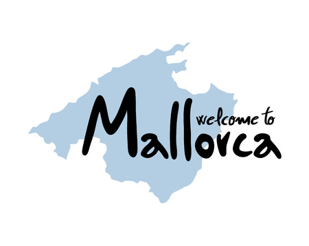welcome to Mallorca symbol Imagens - 102260337
