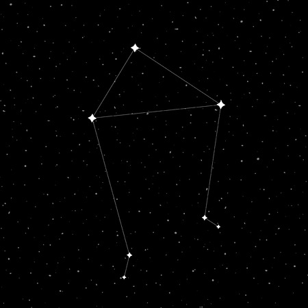 Libra constellation symbol