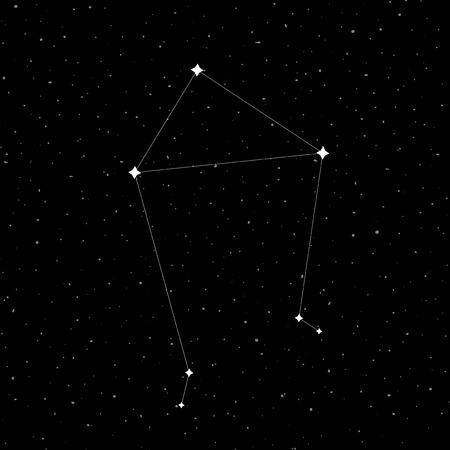 Libra constellation symbol