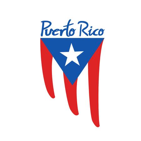 Puerto Rico flag symbol