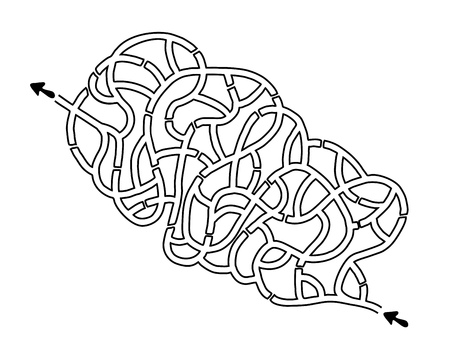imaginative maze design