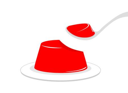 design of jelly illustration
